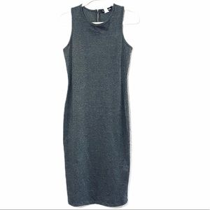 french atmosphere gray dress